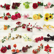 SUPER CLEARANCE SALE!!! Half Price Artificial Silk Flowers Sprays!  Wholesale!