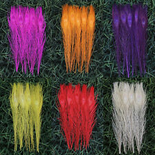 "Wholesale,10-50pcs Staining Peacock Tail Feathers about 10-12 Inches"" 6 colors"
