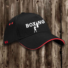Boxing Cap -- Mens Womens Clothing Punchbag Gloves Training Ring Gym Hat