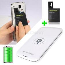QI Wireless Charger Charging Pad+ Receiver For Samsung Galaxy S4 i9500 S3 i9300