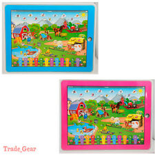 Farm Music Y-pad Computer Tablet Learning English Education Machine Toy for Kids