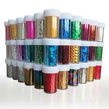 1 Roll Fashion Designed Nail Art Transfer Foil Paper Nail Sticker Tip Decoration