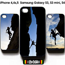ROCK CLIMBING ABSEILING EXTREME SPORT CAVING iPhone 4 5 Samsung Galaxy S3 case