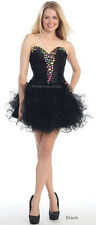 NEW PROM HOMECOMING GRADUATION SHORT CORSET BACK CUTE FLIRTY DRESSES & PLUS SIZE