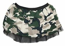 Army Camouflage Tutu Skirt Camo Fancy Dress Costume Dance Wear Clubbing Rave
