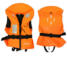 100N ORANGE TBF KIDS - BUOYANCY AID life Jacket ski sailing TWO BARE FEET - KIDS