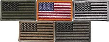"""USA American Flag Patch Military US Flag Velcro Patch 1-7/8"""" x 3-3/8"""""""