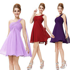 Ever Pretty 2015 Bridesmaid One Shoulder Short Cocktail Prom Party Dresses 03537