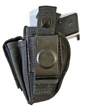 Taurus PT22 & PT25 | Nylon OWB Belt Holster with Mag Clip Pouch. MADE IN USA!