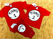 DR. SEUSS THING 1 2 3 4 5 6 T SHIRT NB/YOUTH/ADULT ON SALE