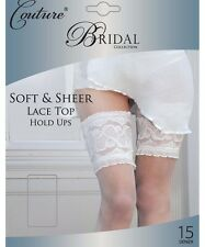 Couture Bridal Soft Sheer Lace Top Hold Ups