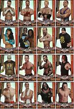 WWE Slam Attax Rebellion Champion Card CHOOSE YOUR CHAMPION CARD