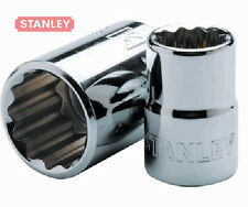 """STANLEY 3/8"""" Drive 12 point SOCKETS. SAE ( INCH) Various Sizes * (inch)"""