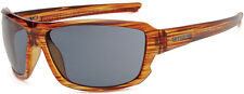 STONE Sunglasses ST176 Rootbeer Crystal Pinstripe S11 Grey Cat 3 Tint RRP £38.00