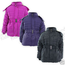 GIRLS School Coat GIRLS JACKET Quilted HOODED KIDS Age 3 4 5 6 7 8 9 10 11 12 13