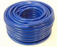 Food Grade Blue PVC Hose Pipe - Flexible Braided Reinforced - Caravan Motorhome