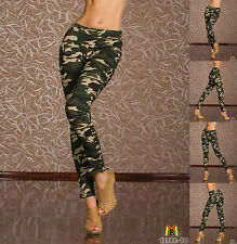 7505 NEW SEXY CAMOUFLAGE MID WAISTED JEGGINGS TROUSERS FOR WOMEN ONLINE SHOP UK