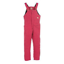 Berne Apparel Ladies Sanded Insulated Bib Overall - Quilt Lined S-4XL WB515