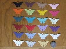 NEW 40 LARGE  PEARLESCENT BUTTERFLY CONFETTI Wedding PARTY Table Confetti Topper