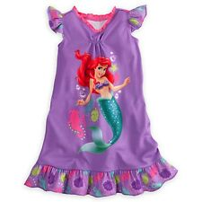 Disney Princess Ariel Nightshirt Nightgown The Little Mermaid All Sizes NWT