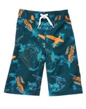 GYMBOREE SWIM SHOP BLUE SURFER SWIM TRUNKS 3 4 5 6 NWT