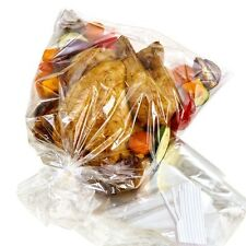 LARGE EASY ROASTING BAGS COOKING POULTRY CHICKEN FISH MEAT OVEN MICROWAVE VEG