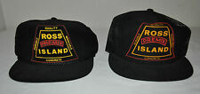 Black Ross Island Concrete Hats Corduroy Hat and Mesh Hat One Size Fits All