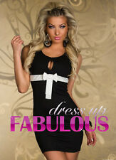 NEW SEXY WOMEN'S EVENING COCKTAIL SHEATH DRESS HOT CLUBWEAR OFFICE CLOTHES S M L
