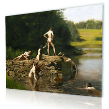 LARGE Canvas Thomas Eakins The Swimming Hole reproduction print poster GICLEE