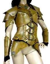 Leather Deluxe Umbra Armor Larp SCA Medieval Cosplay Costume Armor