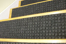13 Step Indoor 100% Outdoor Stair Treads Non-Slip Staircase Rubber Choice Size