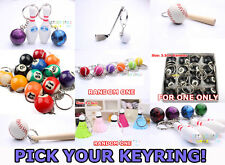 ONE Sport Keyring,Plastic or Wood Toy,Kids,Party Bag Gift Supply Prize Props