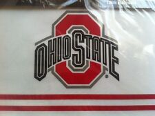 NCAA OHIO STATE LINEN PLACEMAT SET - DINING - NEW IN PACKAGING - FREE SHIP! FANS