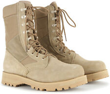 "Desert Tan Military Sierra Sole 8"" Tactical Desert Boots"