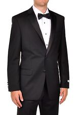Calvin Klein Myer Slim Fit Black Tuxedo - Newest Collection 100% Authentic