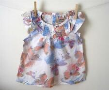 baby girls butterfly tunic top 3-6 6-9 9-12 12-18 2-3 3-4 4-5 5-6 years next hol