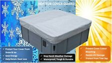 PROTECT YOUR SPA COVER NOW - 7ft & 8ft Hot Tub Cover Harsh Weather Guard