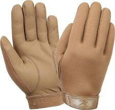 Coyote Brown Military Lightweight Tactical All Purpose Rubber Duty Work Gloves