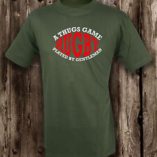 Rugby A Thugs Game Played By Gentleman Mens T Shirt -- Clothing