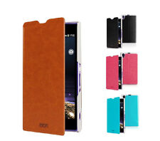 Mofi Flip Stand Slim PU Leather Pouch Cover Case For Sony L39h Xperia Z1 i1 New
