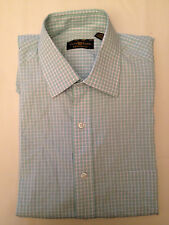 NEW Men's Club Room Easy Care Check Tattersall Dress Shirt     - Choose Color/Sz