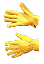 *SAFEWEL Premium Quality Leather Drivers / Gardeners / Safety / Working Gloves*
