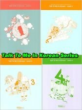 Talk To Me In Korean Series * with Audio CD Hangul Learn Text Book FREE Shipping
