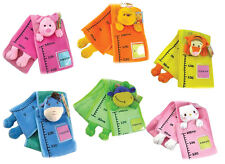 ADORABLE HEIGHT CHARTS, 6 DESIGNS, SOFT FABRIC, CAN ADD PHOTOS, FREE POSTAGE