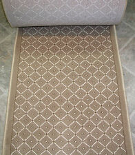 "157616 - Rug Depot Hall and Stair Runner Remnants - 26"" Wide - Royale Beige"