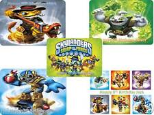 PERSONALISED A4 ANY NEW SKYLANDERS SWAP FORCE ICING SHEET/RICE PAPER CAKE TOPPER