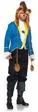 Adult Movie Beauty and the Beast Disney Prince Beast Fancy Dress Suit Costume