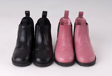 Tiny Tots Childrens Leather Jodphur Jodhpur Boots Pink or Black sizes 4 - 10