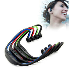 Wireless Sports Stereo Bluetooth Headset Earphone Fr Cell Phone PC Tablet Laptop