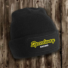 Speedway beanie hat Motor sport Driving Championship Racing Cold winter present
